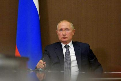 Putin's Self-Isolation Not to Affect His Productivity, Offline Events Canceled - Kremlin