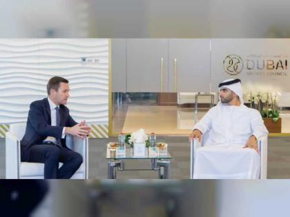 Mansour bin Mohammed meets President of International Cycling Union