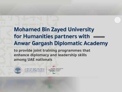 Mohamed bin Zayed University for Humanities partners with Anwar Gargash Diplomatic Academy