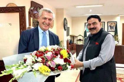 UN High Commissioner calls on Interior Minister