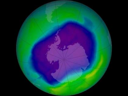 Russian Scientist Says Ozone Layer Hole Close to Maximum Size But May Recover