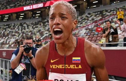Rojas eyes long jump for double gold in Paris Olympics