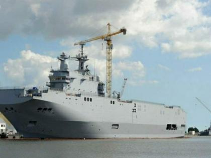 Kremlin Says No Plans to Return to Issue of Purchasing French Mistral-Class Ships