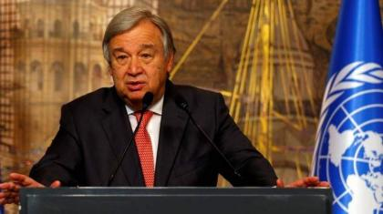 World on 'catastrophic' path to 2.7C warming: UN chief