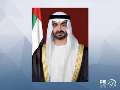 محمد بن زايد يلتقي رئيس إقليم كردستان العراق على هامش زيارته إلى بريطانيا