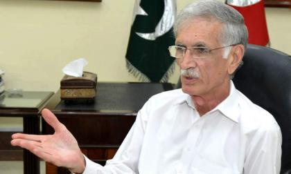 PTI govt to ensure holding forthcoming polls on EVM: Pervez Khattak