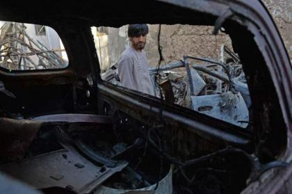 Relatives of Afghan family killed in US strike want face-to-face apology