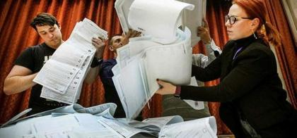 Russia's ruling party says won two-thirds majority in election