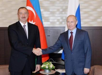 Putin, Aliyev Reaffirm Importance of Continuing Russian-Azeri Parliamentary Cooperation