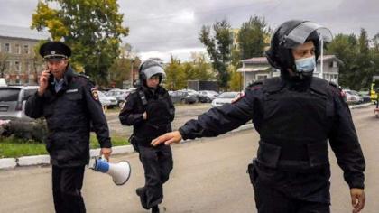 Shock at Russia university campus as gunman kills six