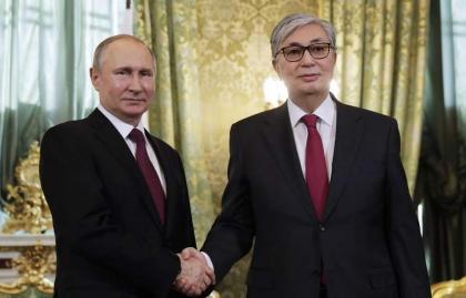 Putin, Tokayev Discuss Work of Recent CSTO, SCO Events - Kremlin