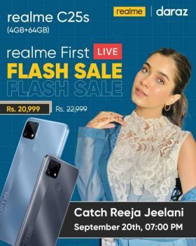 realme C25s Witnesses a Flash Sale on Daraz