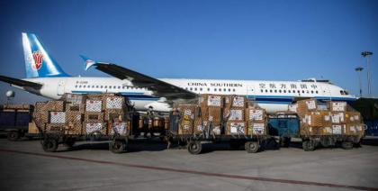 China endeavors to enhance int'l air logistics sector