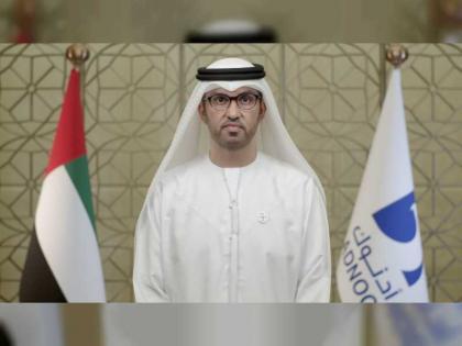 سلطان الجابر: الغاز الطبيعي سيقوم بدور محوري في تمكين النمو الاقتصادي بالإمارات للخمسين عاماً القادمة