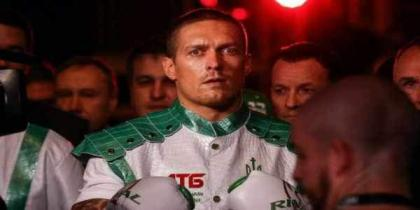 Challenger Usyk 'jumping in at the deep end', says Joshua