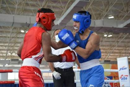 China's Olympic boxers shine at National Games