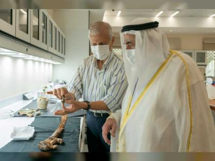 Sharjah Ruler reviews latest archaeological discoveries at SAA