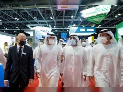 Hamdan bin Mohammed opens Gastech 2021 Exhibition and Conference