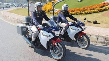 12,961 motorcyclists fined during last week
