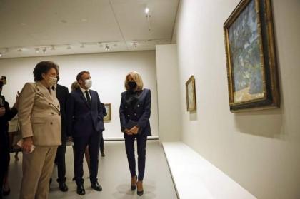Louis Vuitton Foundation in Paris Opens 'The Morozov Collection' Art Exhibition to Public