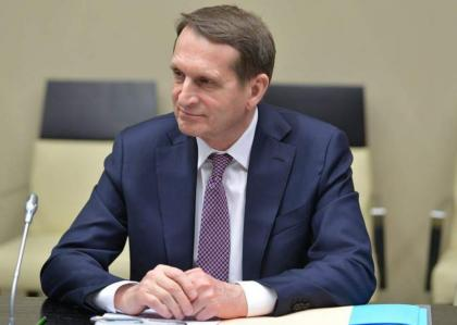 New Claims in Skripal Case Aimed to Cover Up NATO Failure in Kabul - Russia's Naryshkin
