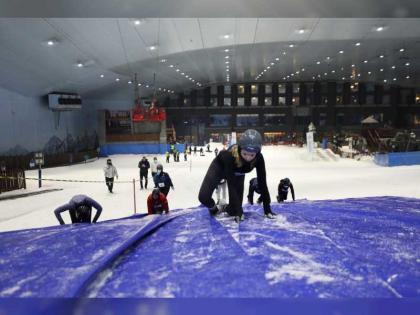 مجلس دبي الرياضي ينظم بطولة تحدي العوائق الجليدية تحدي الثلج 8 أكتوبر المقبل