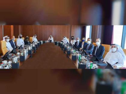 Dubai International Chamber board discuss new plans to boost foreign trade