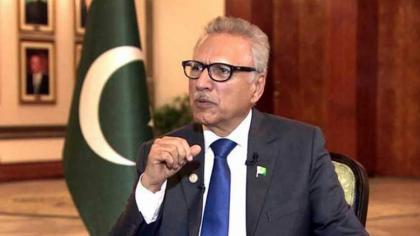 President Alvi praises ombudsperson's role in solving women problems
