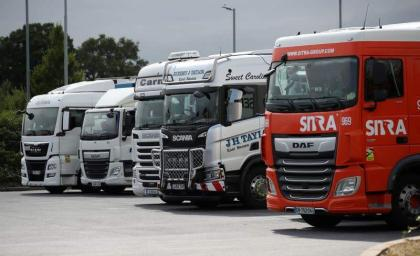 UK Government Plans to Ease Visa Rules to Fight Shortage of Truck Drivers - Reports