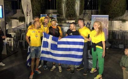 Greek runner Zisimopoulos wins 39th Spartathlon