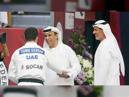 الدرعي يعتمد برنامج بطولة أبوظبي جراند سلام للجودو 2021