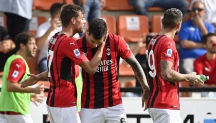 Maldini scores fairytale first goal as Milan go top of Serie A