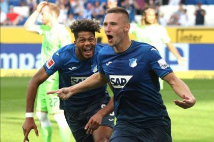Wolfsburg crash at Hoffenheim to leave Bayern three points clear
