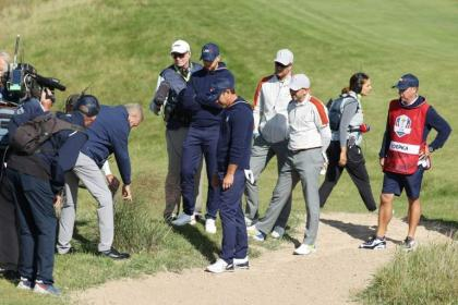 No relief for Koepka, from referees or Rahm and Garcia
