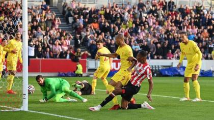 Brentford deny Liverpool in six-goal share of the spoils