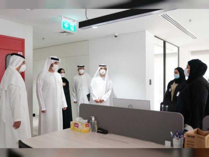 Maktoum bin Mohammed meets Ministry of Finance action team