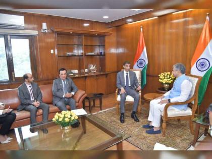 Al Zeyoudi meets Indian ministers of state as UAE-India trade talks commence