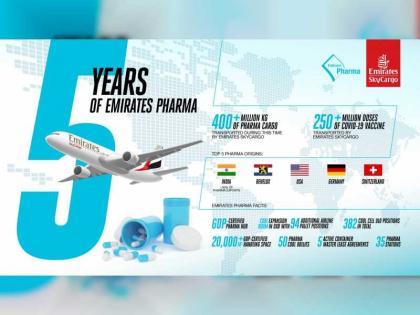 400 مليون كيلوغرام أدوية نقلتها الإمارات للشحن الجوي في 5 سنوات