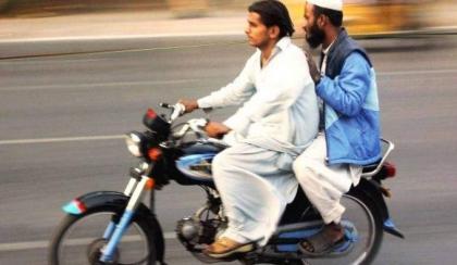 Sindh govt bans pillion riding on 'Chehlam'