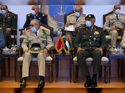 قائد العمليات المشتركة يلتقي المفتش العام للقوات المسلحة الملكية المغربية