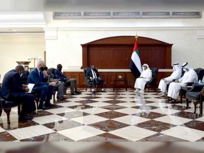 Abu Dhabi, Liberia discuss strengthening joint cooperation
