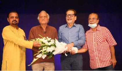 Prominent Theater & Film Director Sarmad Sehbai Conducted a Workshop at the Arts Council of Pakistan Karachi.