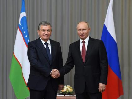 Mirziyoyev, Putin Discussed Situation in Afghanistan - Uzbek Presidential Office