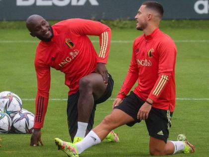 Belgium without Lukaku and Eden Hazard for Nations League playoff