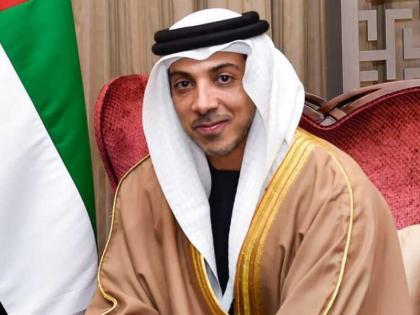 Mansour bin Zayed directs to display Expo 2020 Dubai logo at Emirates International Endurance Village