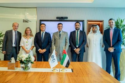 Export credit agencies of UAE and Italy review joint initiatives in strategic sectors and sustainable development