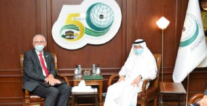 OIC Secretary General Receives Danish Ambassador to Saudi Arabia