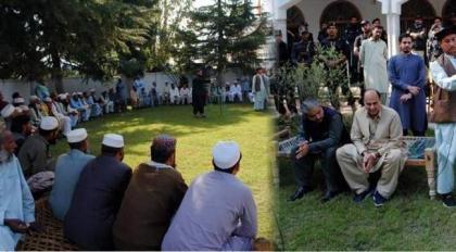 DIG and Commissioner Hazara visit Oghi to resolve dispute Torghar tribes