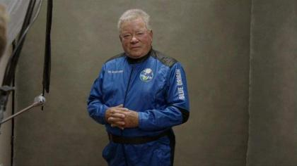Ninety-Year-Old US Actor of 'Star Trek' TV Series Sets Record as Oldest Human in Space