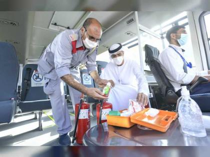 RTA carries out 1,331 inspections of school transport in Dubai